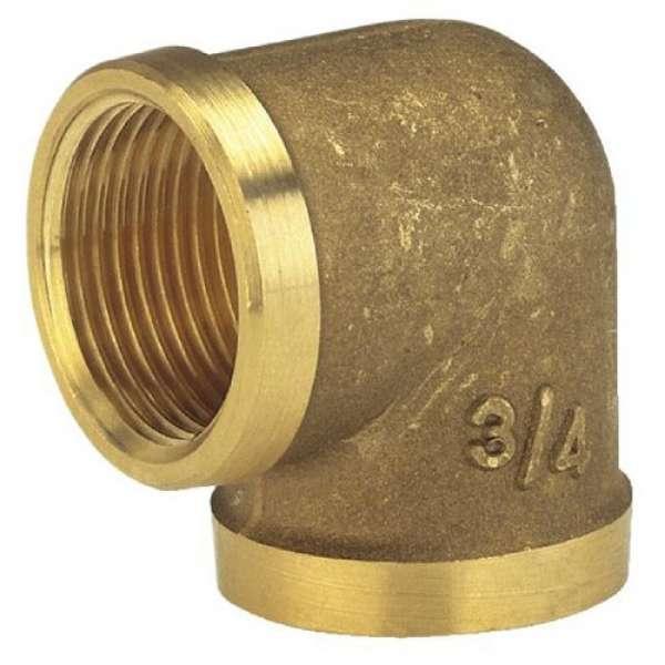 Winkel Messing IG 26,5mm G3/4 Gewinde
