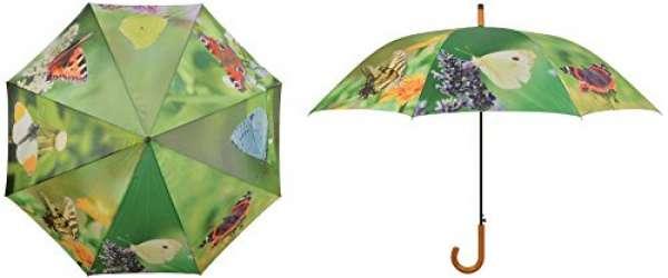 Esschert Design Regenschirm Schmetterlinge