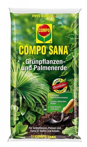 Compo Sana Grünpflanzen- und Palmenerde 10L