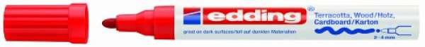 e-4000 Mattlack-Marker rot