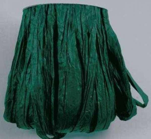 Rayonbast matt dunkelgrün