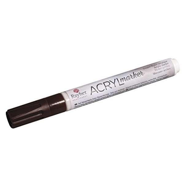 Acryl-Marker kastanie