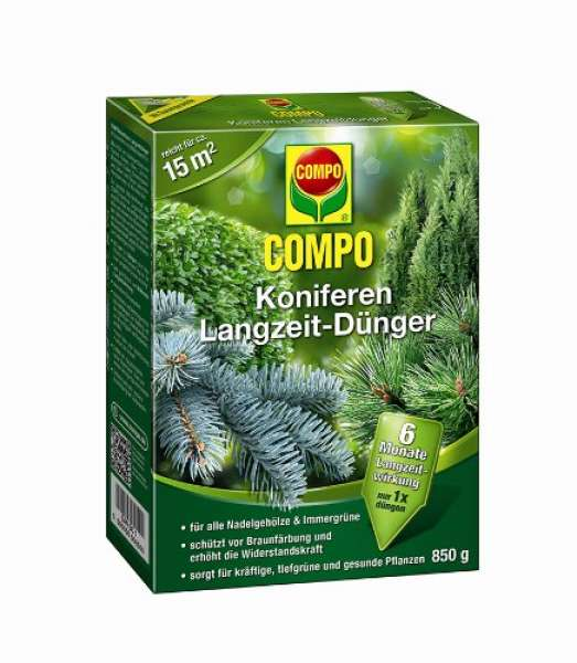Compo Koniferen Langezit-Dünger 850g