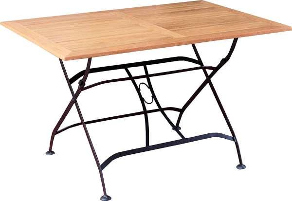 Tisch Mainau Teakholz 120x80