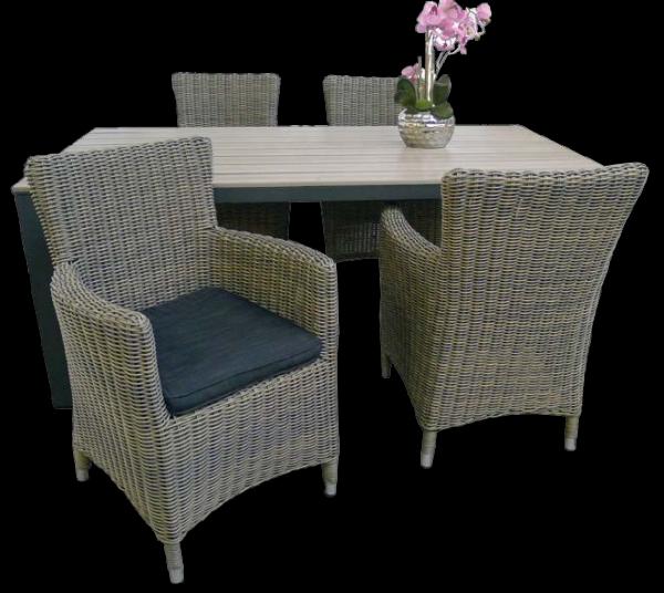 Set Sessel Rantum + Tisch Keitum