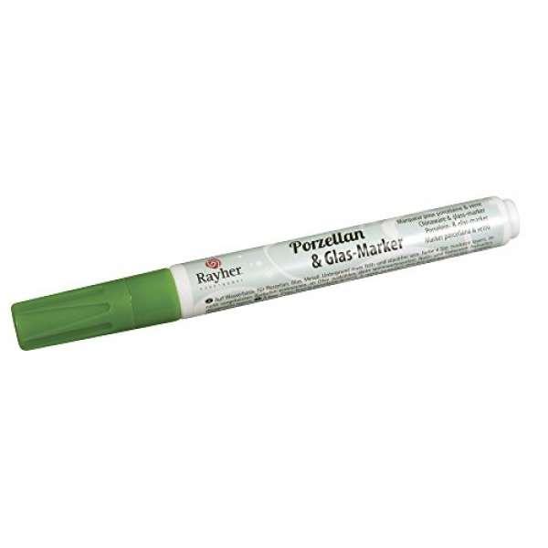 Porz.&Glas-Marker 1-2mm immergrün