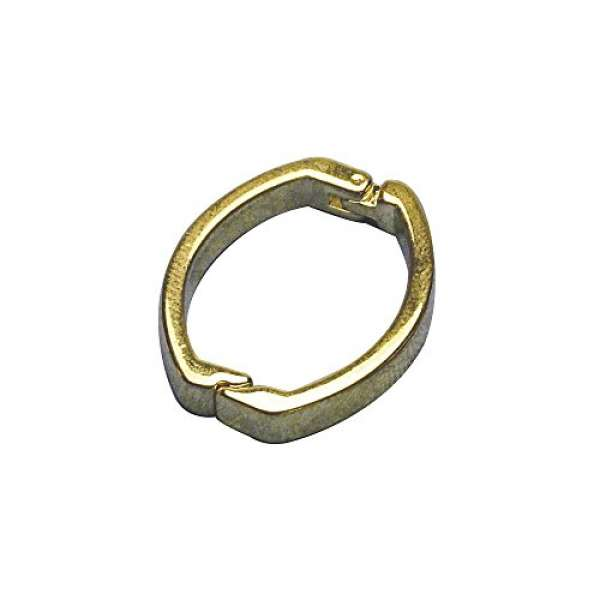Kettenverschluss Clip 25x20mm 1St. gold
