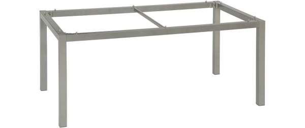 Tischgestell 200x100cm Alu Graphit