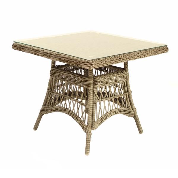 Tisch Föhr Natur 90x90cm