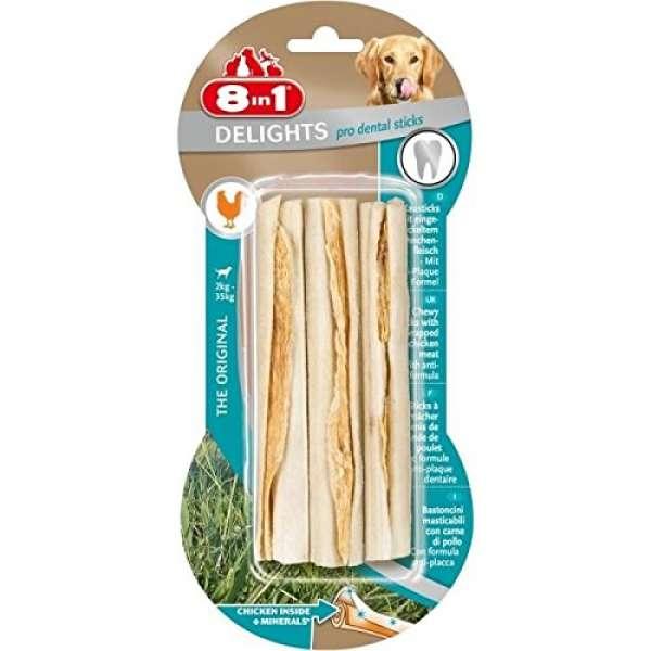 8in1 Delights pro dental sticks 6Stk.