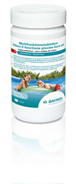 Bayrol Multifunktions-Chlortabletten 1kg