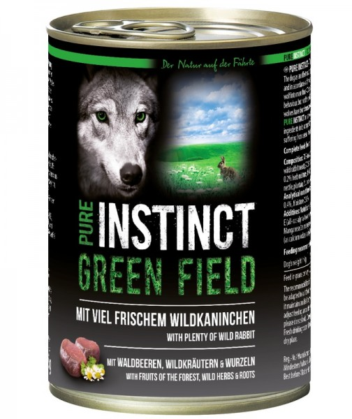PURE INSTINCT GREEN FIELD 400g
