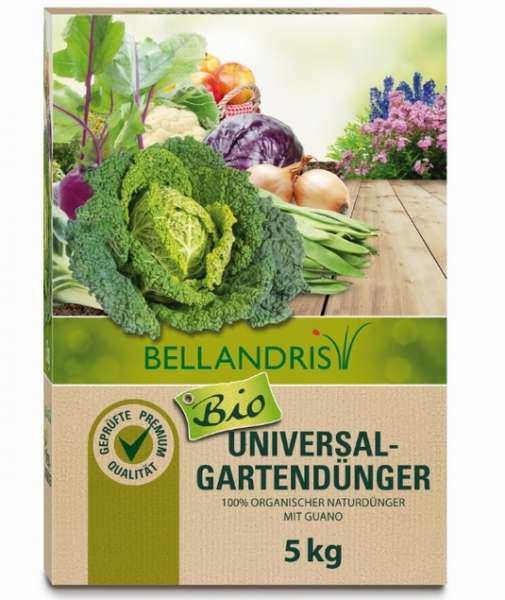 Gartendg. Universal Bio 05,0kg BE #