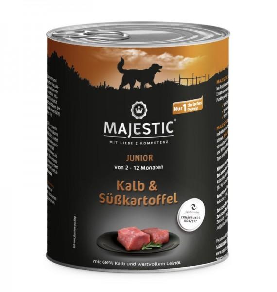 MAJESTIC 800g Junior Kalb&Süsskartoffel