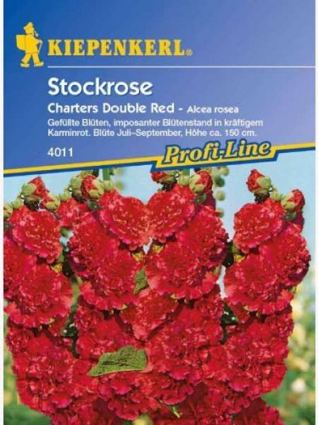 Kiepenkerl Alcea Chaters Red