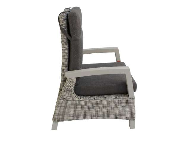 Sessel Benedetto Lounge ice grey