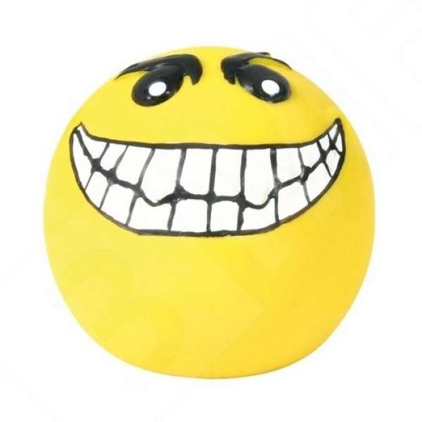 Trixie Latex Smileys, Ø6 cm