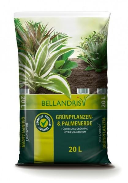 Bellandris Grünpflanzen- & Palmerde 20L