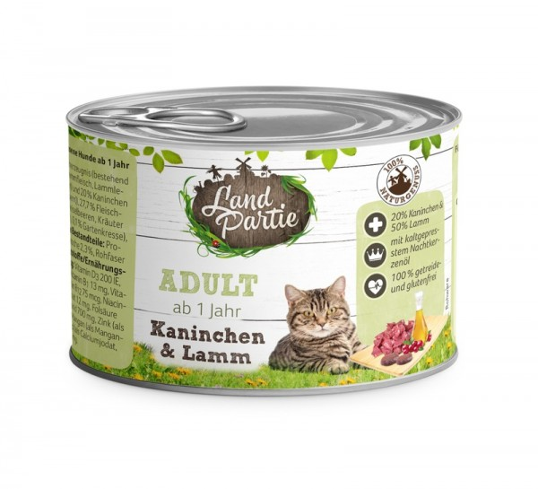 LandPartie ADULT - Kaninchen&Lamm - 200g