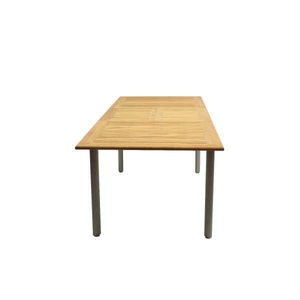 Tisch Korsika 150/210x90cm grau ausz.