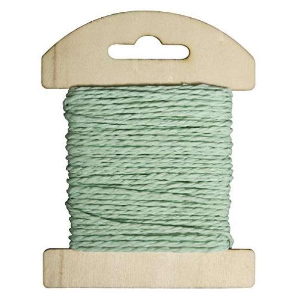 Papier Kordel 1,2mmx10m mintgrün