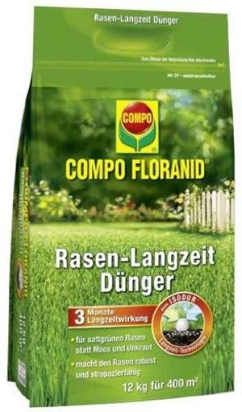 COMPO FLORANID Rasen-Langzeitdünger 12 kg für 400 m²