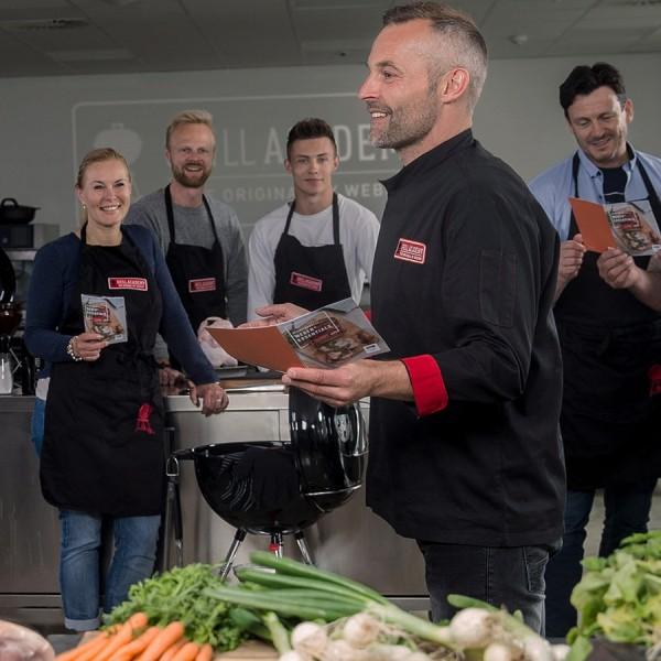 Weber Grillakademie - 15.02.2019 Steak & Burger, Pizza di Bufala, Pulled Pork Burger mit Gorgonzalas