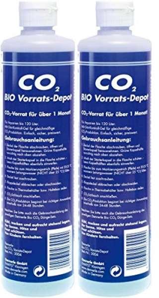 Dennerle 3005 Bio CO2 Vorrats-Depot Vorteilspack