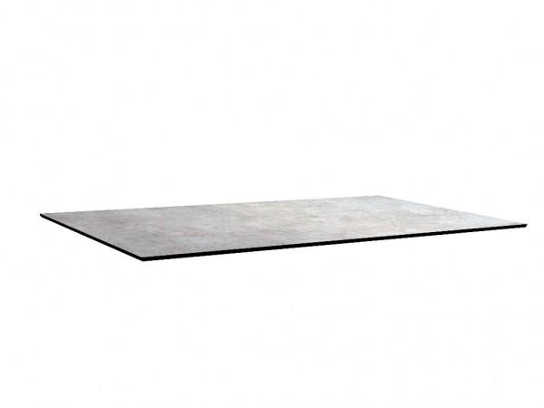 Tischplatte 160x90 Metallic grau