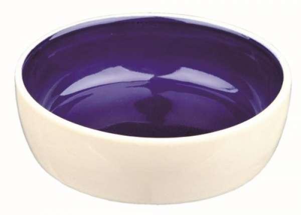 Trixie Keramiknapf blau Ø12 cm