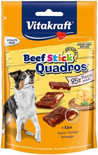 VK Beef Stick Quadros Käse
