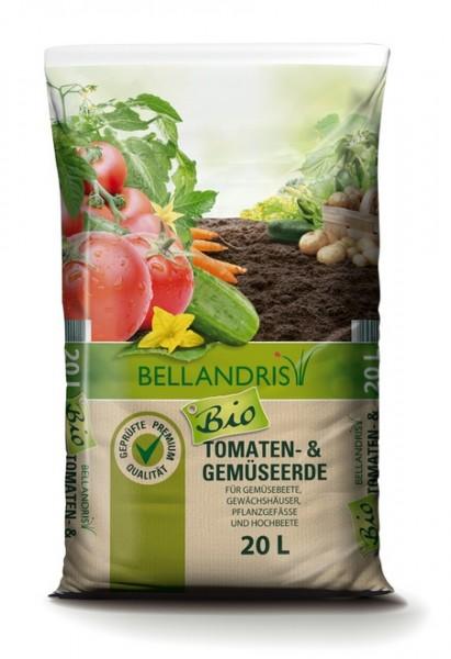 Bellandris Bio Tomaten- & Gemüseerde 20L