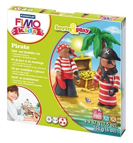 Fimo kids Form&Play Piraten 4x42g