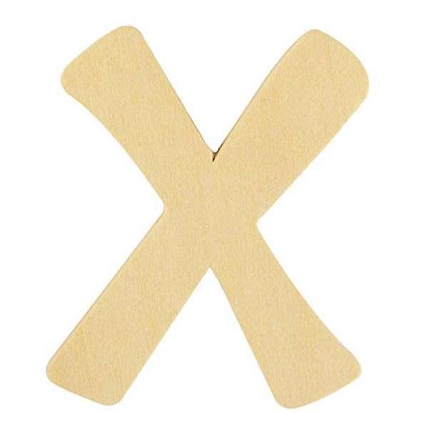 Holz Buchstabe X