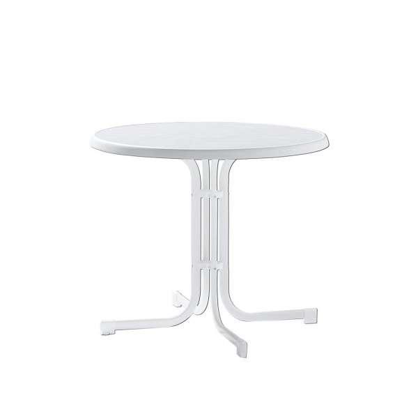 Tisch Ku/Sta w 86cm kl rund