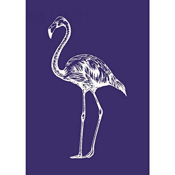 Schablone Flamingo A5 Schablone +Rakel