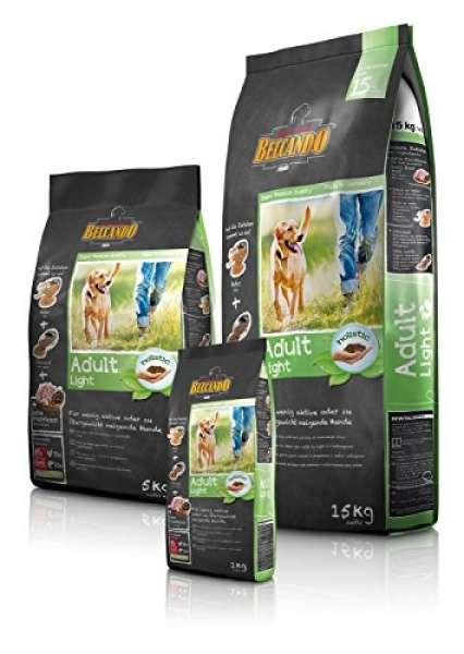 BELCANDO Trockenfutter ADULT LIGHT Diätfutter für Hunde 1,0 kg