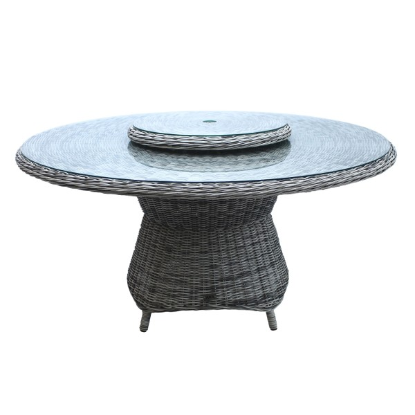 Tisch Broadway 150cm grey shell