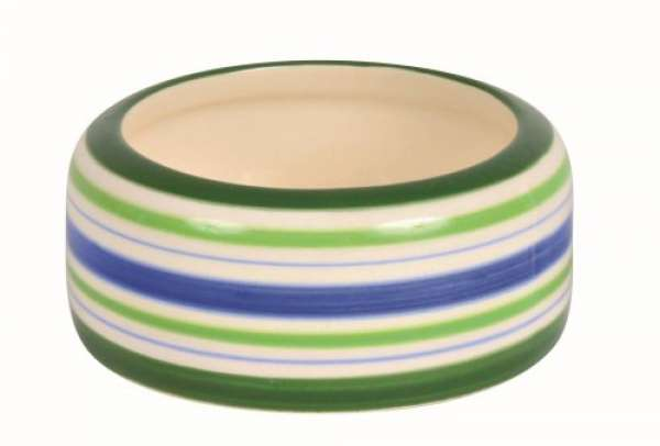 Trixie Keramiknapf blau/grün 50 ml/ø 8 cm
