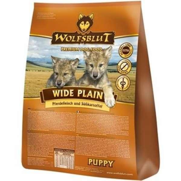 Wolfsblut Wide Plain Puppy mit Pferd & Süßkartoffel