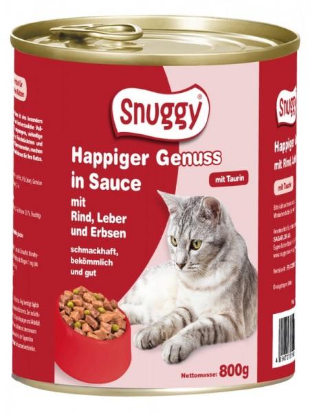 snuggy Katze RindLeberErbse 800g