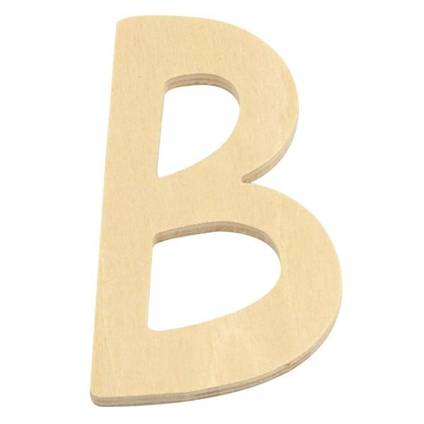 Holz Buchstabe B