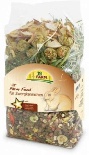 JR Farm Food Zwergkaninchen Adult 750g