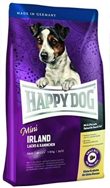 Happy Dog Mini Irland mit Lachs & Kaninchen 1kg