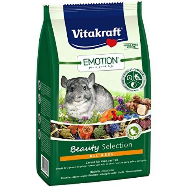 Vitakraft Emotion Beauty Selection All Ages für Chinchilla - 600g