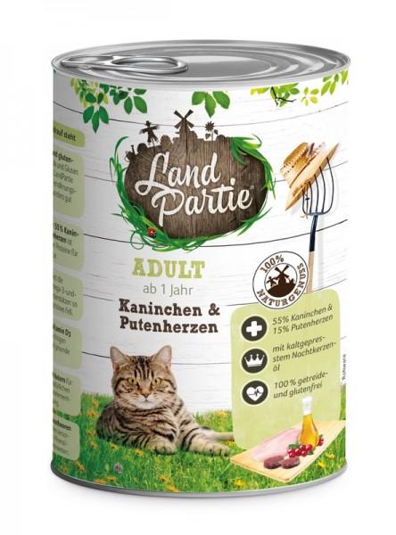 LandPartie ADULT - Kaninchen&Putenherzen - 400g