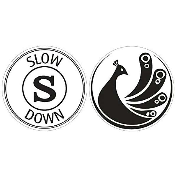Labels slow down Pfau 30mm