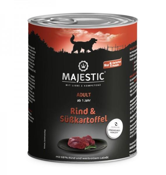 MAJESTIC 800g Rind & Süsskartoffel