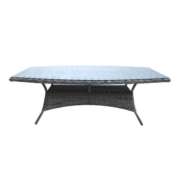 Tisch Broadway 220x120cm grey shell