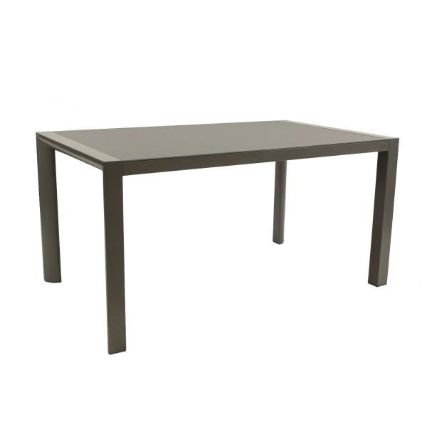 Tisch Rom 150x90cm silbergrau